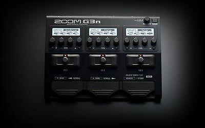 Zoom G3n Multi-Effects Processor for Guitar