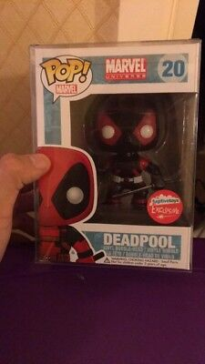 Funko Pop! Deadpool Inverse - Marvel #20, Fugitive Toys Exclusive A2 VERY RARE