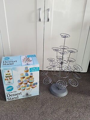 Wilton Cupcake Dessert Stand Metal Cake Holder Party Occasion Buffet