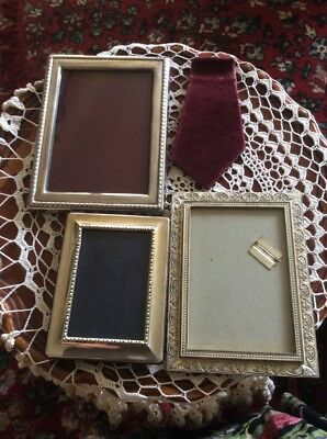 Silver Hallmarked  R Carrs Photograph Picture Frame Plus RC EPNS PLUS Lanthe f