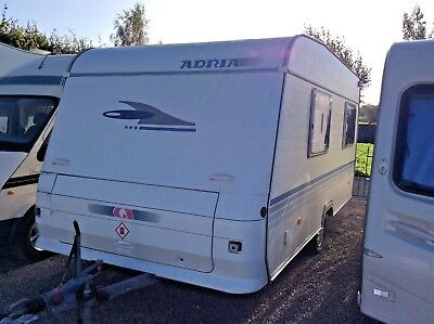 Adria Altea 432 px, Fixed Bed, 2004 With Full Awning,