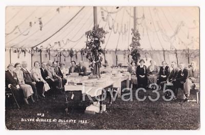 DULCOTE, WELLS, Somerset - SILVER JUBILEE CELEBRATIONS - 1935 RP PC - PHILLIPS