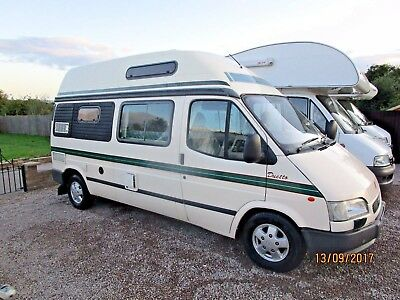 Auto-Sleeper Duetto, 4 Berth With Rear Seat Belts,