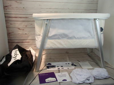 Babyhome Air Bassinet White Stars