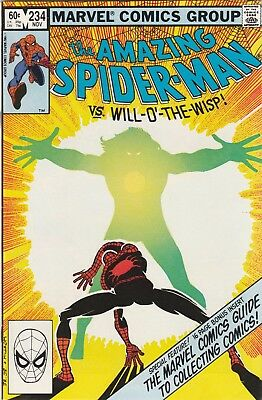 Amazing Spider-man lot #234 - #239 (6 books) Vol 1 Bronze Age