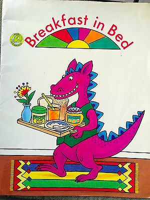 Teacher Big Book BREAKFAST IN BED Kindergarten 1st RIGBY TADPOLES Oversized