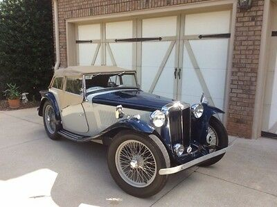 1949 MG T-Series 2 Seater 1949 MG TC EXU Version Older Restoration in Excellent Condition