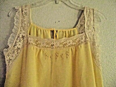 Beautiful vintage long nightgown from Italy