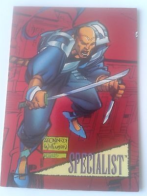 Marvel Universe Series 4 1993 - Red Foil Chase Card 7 - Specialist