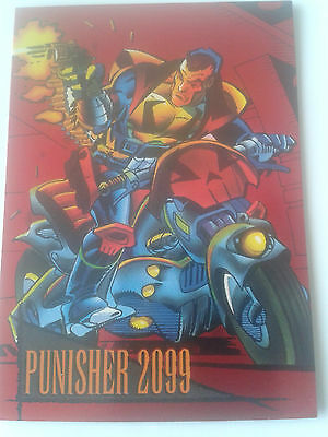 Marvel Universe Series 4 1993 - Red Foil Chase Card 6 - Punisher
