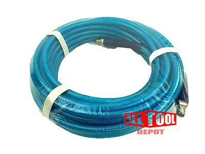 "50 FT All Tool Depot Polyurethane AIR HOSE 1/4""NPT 300psi w/ Swivel Fitting"