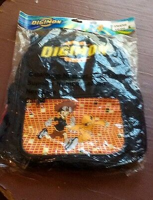 Original Collectable Digimon Back-Pack New & Sealed.