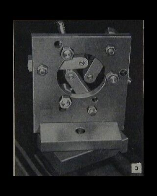 STEADY CENTER REST How-To build PLANS Fits any Metal Lathe