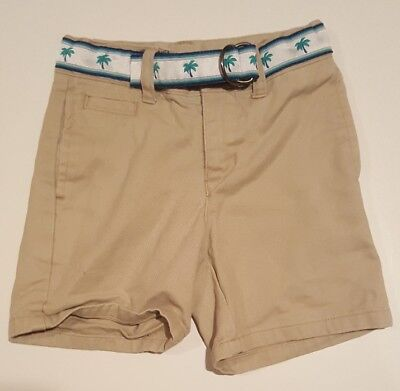 Janie and Jack Baby Boy Size 12-18 Months Shorts. Tan Khaki Beach Shorts.