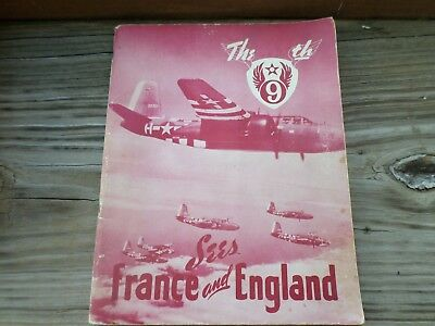 wwii aaf army air corps force unit history ww2 the 9th sees france england 9 th