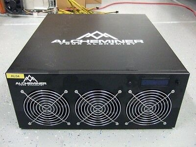 Rare Updated Firmware for Alcheminer 256 Scrypt Miner