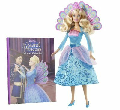 Mattel Barbie as the Island Princess Book and Doll Gift Set