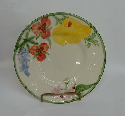 "Franciscan Wildflower Bread and Butter Plate 6 3/8"" USA"
