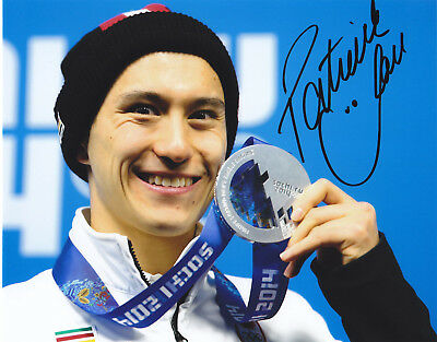 Patrick Chan Signed Autographed Skating  Sochi Olympics 8X10 Photo  Proof