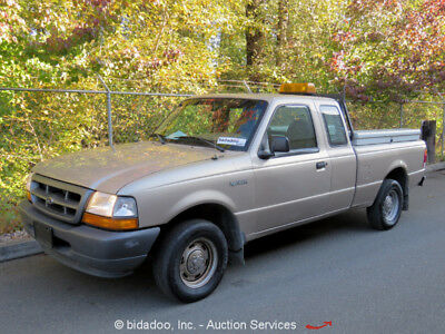 1998 Ford Ranger  Ford Ranger Extended Cab Pickup Truck 3.0L V6 4-Speed Automatic A/C bidadoo