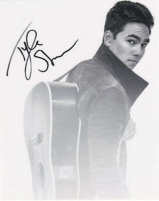 Tyler Shaw Signed Autographed Kiss Goodnight Music 8X10 Photo #4