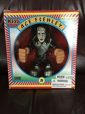 KISS Ace Frehley Gruntz Figure 2002 New in Box
