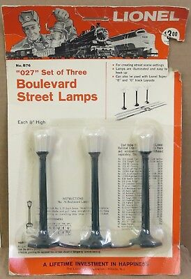 "Lionel Postwar No. 76 / B76 ""Boulevard Street Lamps"" SEALED IN PACKAGE"
