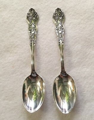 """International MOSELLE Silverplate  6"""" Teaspoons - replated - 2 available"""