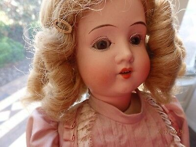 Antique Doll made in Germany H & Co Viola 1903 19inch(49cm) Bisque Head