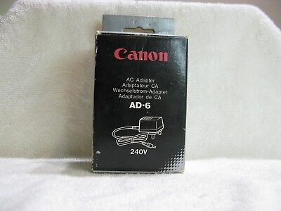 1 only Canon AC Adapter  AD-6