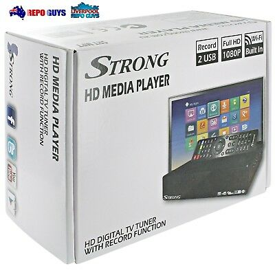 Strong SRT-MPT HD Media Player w Digital TV Tuner & USB Record SRTMPT