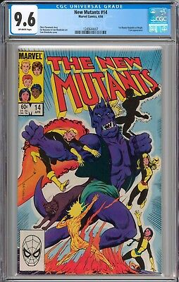 The New Mutants #14 CGC 9.6 NM+ 1st Appearance of Magik New Slab