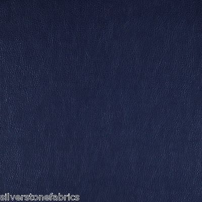 30 yds Maharam Upholstery Fabric Lariat Faux Leather Navy 440401-021 DN2