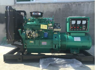 NEW 30Kw 1500RPM Three Phase 50/60hz Diesel Powered Generator For Farm By Sea