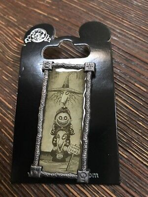 Disney Nightmare Before Christmas Stretching Portrait Lock Shock and Barrel Pin
