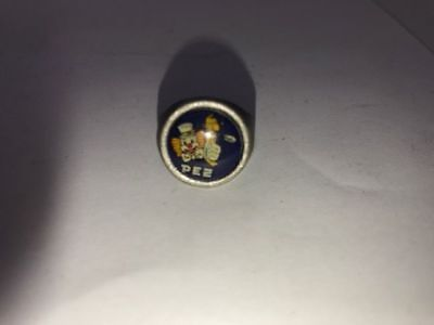 VINTAGE 60s COLLECTABLE PEZ DISPENSER GUMBALL MACHINE ADJUSTABLE RING