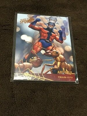 H 2017 Fleer Utlra Spiderman Marvel Ant Man