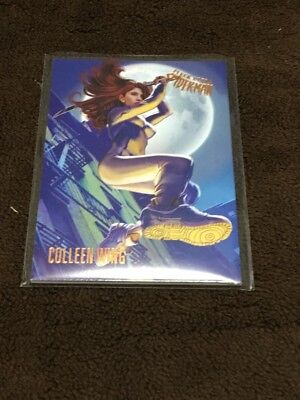 H 2017 Fleer Utlra Spiderman Marvel Colleen Wing