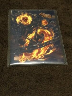 H 2017 Fleer Utlra Spiderman Marvel Ghost Rider