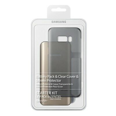 Samsung Galaxy S8+ Plus Starter Kit (Battery Pack, Clear Cover, Cable, Screen Pr