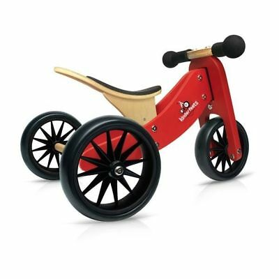 New Tiny Tots Wooden 2-in-1 Trike perfect gift idea for girls or boys