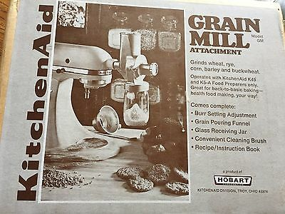 Vintage Kitchen Aid Grain Mill Attachment  Model GM and Box for K45 and K5-A