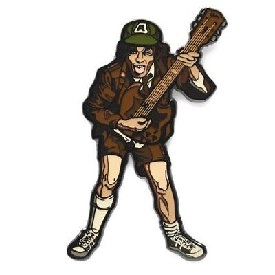 AC/DC Angus Young Enamel Collector Pin By FiGPiN Limited Quantity!