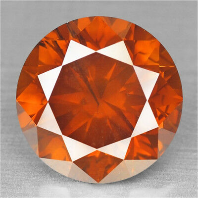 Fancy Vivid Red Diamond Round 2.68 cts Loose Diamond Fancy Natural F651