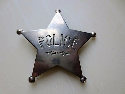 Antique Police Badge