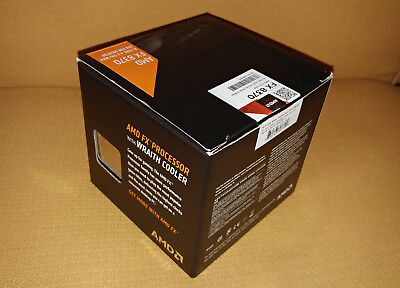 AMD FX 8370 Black Edition with Wraith Cooler 8 core 4.3 GHz max