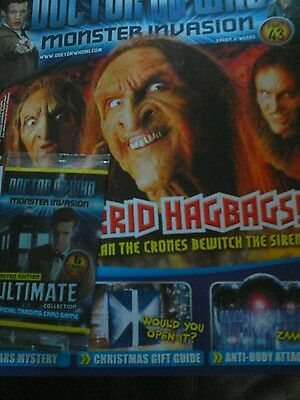 Doctor Who Monster Invasion magazine issue 43  utimate Limited Edition Cards