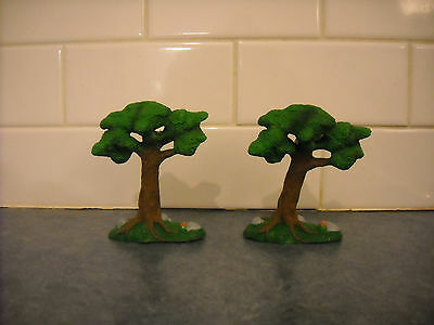 Lot Breyer Stablemate Spring Green Trees  Penny Play Set Mini Doll House Farm