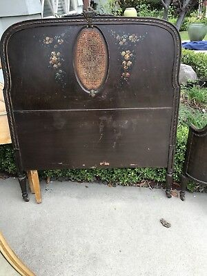 Antique Twin Size Bed