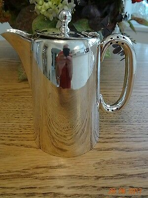 Ornate Silver hot water/ Coffee pot